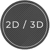 2D/3D Modeling