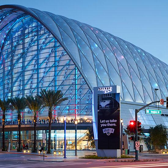 Anaheim Transportation Intermodal Center - AWS Project