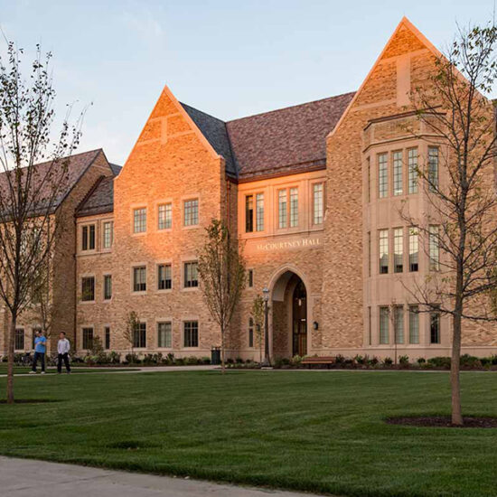 Notre Dame McCourtney Hall - AWS Project